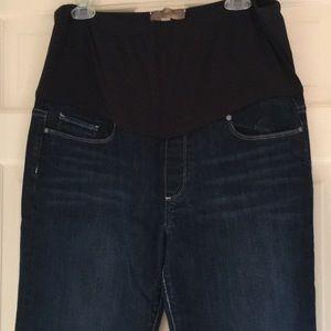 Paige Laurel Canyon Maternity Jeans Size 34
